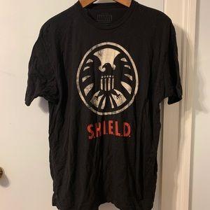 Marvel Shirts - Marvel SHIELD logo T-shirt XXL